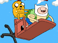 Adventure Time Finn Up